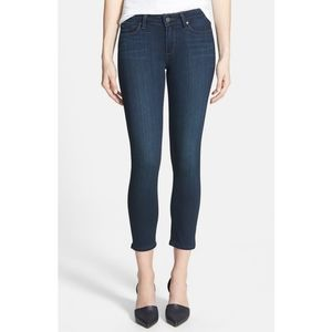 PAIGE Verdugo Crop Skinny Transcend Ankle Jeans